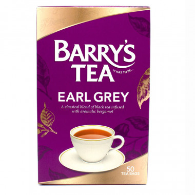 Barry's Thé Earl Grey 50 sachets
