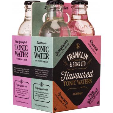 Coffret 4 Tonics Aromatisés Franklin & Sons