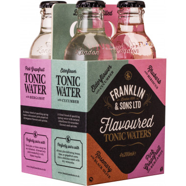 Franklin & Sons 4 Dual-flavoured Tonic Set