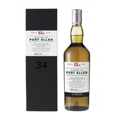 Port Ellen 34 ans 1978 13th Release 70cl 55°