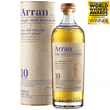 Arran Malt 10 Years Old 70cl 46°