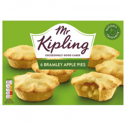 Apple Pies Mr Kipling (x6)