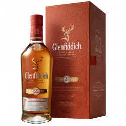 Glenfiddich 21 ans Reserva Rum Cask Finish 70cl 40°
