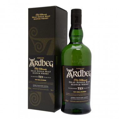 Ardbeg 10 Years Old Un-chillfiltered 70cl 46°