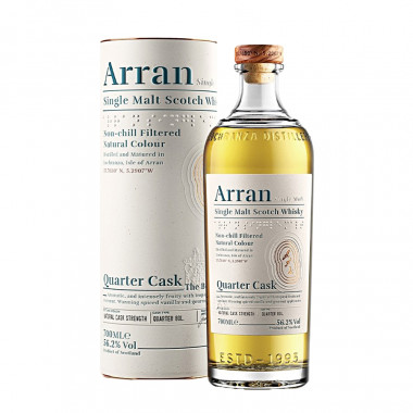 Arran Quarter Cask The Bothy 70cl 56.2°
