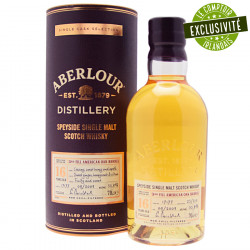 Aberlour 16 ans 3rd Fill American Oak Barrel 70cl 55.8°