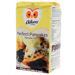 Odlums Perfect Pancakes preparation