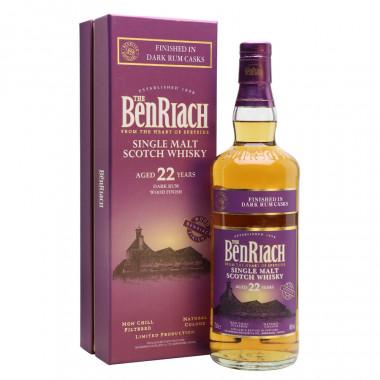Benriach 22 Ans Dark Rum 70cl 46°