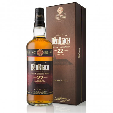 Benriach 22 Ans Peated PX Albariza 70cl 46°