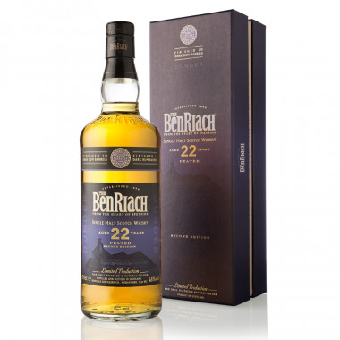 Benriach 22 Years Old Dunder Peated Dark Rum Finish 70cl 46°
