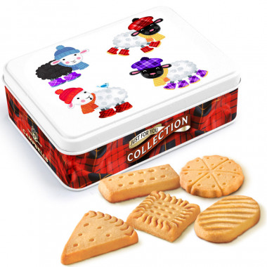 Boite moutons biscuits shortbreads 90g