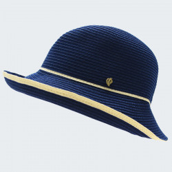 Chapeau Cloche Bleu Out of Ireland
