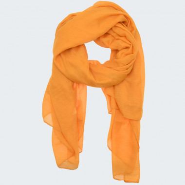 Out Of Ireland Yellow Plain Scarf