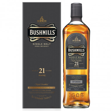 Bushmills 21 Years Old Madeira 70cl 40°
