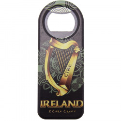 Decapsuleur magnet celtic harp ireland