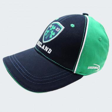Casquette Ireland Marine et Vert