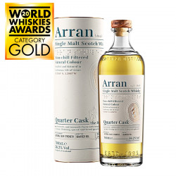 "Arran Quarter Cask ""The Bothy"" 70cl 56.2°"