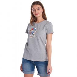 Barbour Grey Amber Gris T-Shirt