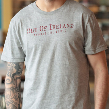T-Shirt Gris Out of Ireland