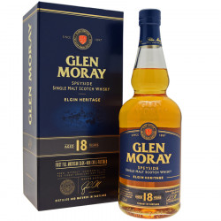 Glen Moray 18 years 70 cl 47.2°