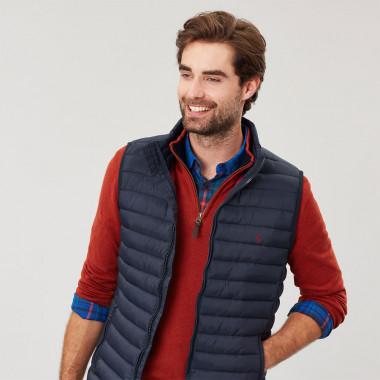 Tom Joule Navy Sleeveless Jacket