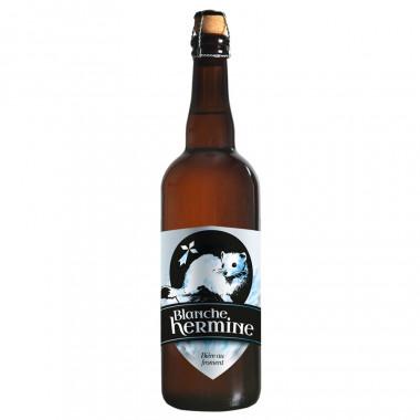 Bière Blanche Hermine 75cl 4°