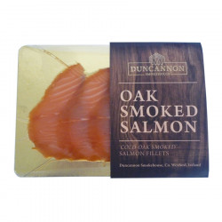 Duncannon Organic Irish Smoked Salmon 3/5 Sliced 100g