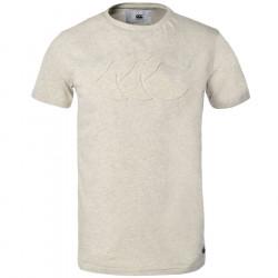 T-Shirt Mata Ecru Chiné Canterbury