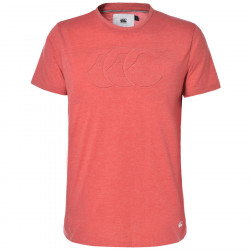 T-Shirt Mata Rouge Chiné Canterbury