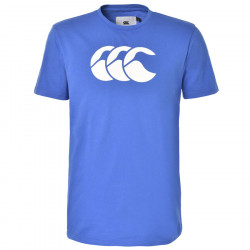 T-Shirt Duncan Bleu Royal Canterbury