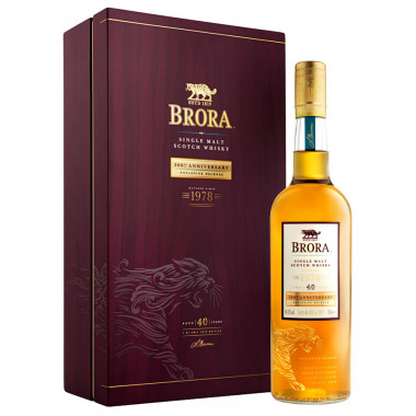 Brora 40 Years Old 200th Anniversary Release 2019 70CL 49.2°
