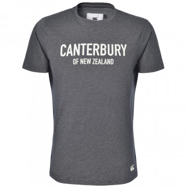 Canterbury Bailey Navy with Thin Stripes T-Shirt