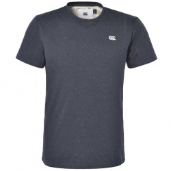 T-Shirt Aan Marine Chiné Canterbury