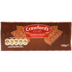 Bourbon Creams Crawford's 150g