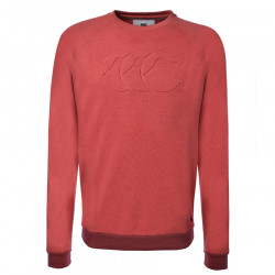 Sweat Severn Rouge Chiné Canterbury