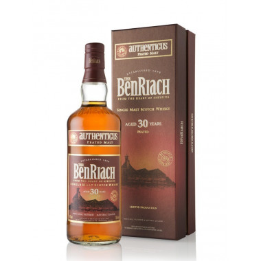 Benriach 30 ans authenticus 70cl 46'