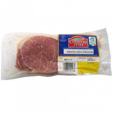 Smoked Bacon 8/10 Slices 300g