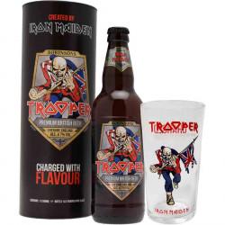 Trooper Beer + 1 Pint Glass 50cl 4.7°