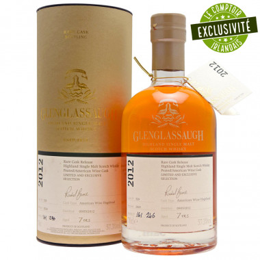 Glenglassaugh 7 Years Old American Wine Cask 2012 70cl 53.9°