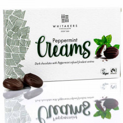 Chocolats mint creams whitakers 150g
