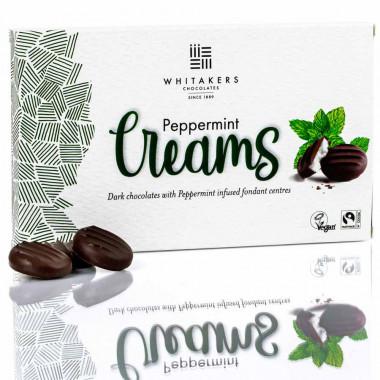 Chocolats mint creams whitakers 150g