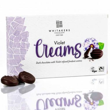 Chocolats violet creams whitakers 150g