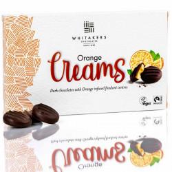 Chocolats orange creams whitakers 150g