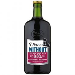 St Peter's Elderberry & Raspberry Alcohol Free 50cl