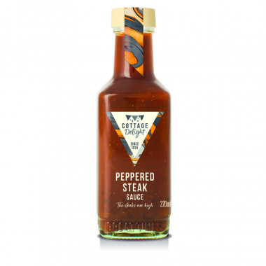 Sauce Peppered Steak Cottage Delight 220ml