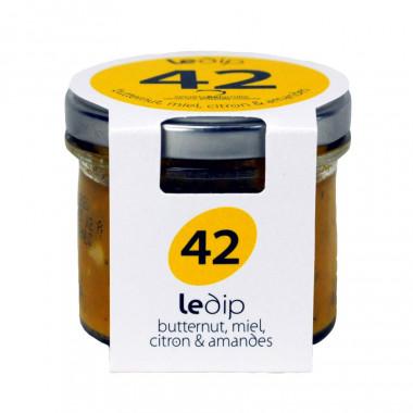 Tartinable Butternut Miel Citron Amandes Secrets de Famille 90g