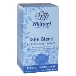 Whittard Thé 1886 Blend 50 sachets