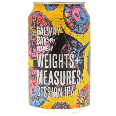 Galway Bay Weights & Measures Session IPA Can 33cl 3°