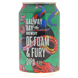 Galway Bay Foam and Fury Double IPA Canette 33cl 8.5°