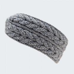 Aran Woollen Mills Grey Aran Headband